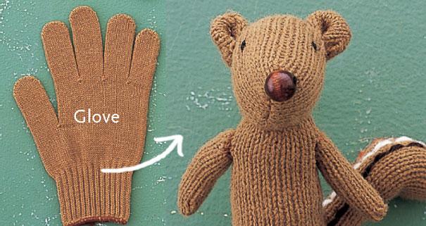 Turn a Glove into a Chipmunk