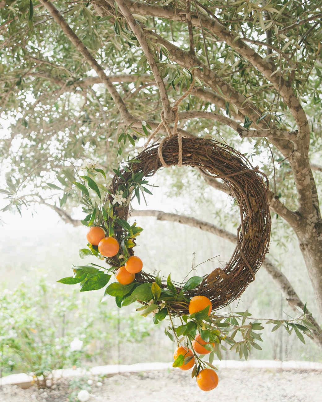 Citrus Garden Wreath